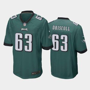 Eagles Jack Driscoll Green Jersey
